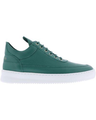 Zielone sneakersy Filling Pieces