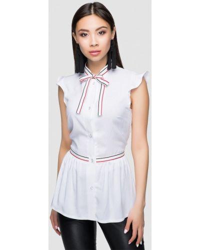 Белое платье весеннее A-dress