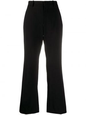 Bawełna spodni spodnie z kieszeniami z wiskozy Gucci