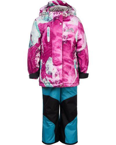 Спортивный костюм розовый теплый Oldos Active
