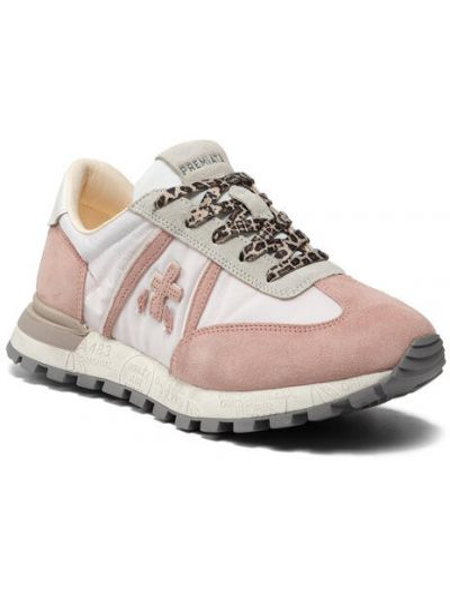 Różowe sneakersy Premiata