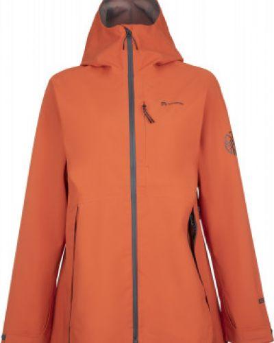 Прямая оранжевая куртка с капюшоном на молнии Outventure