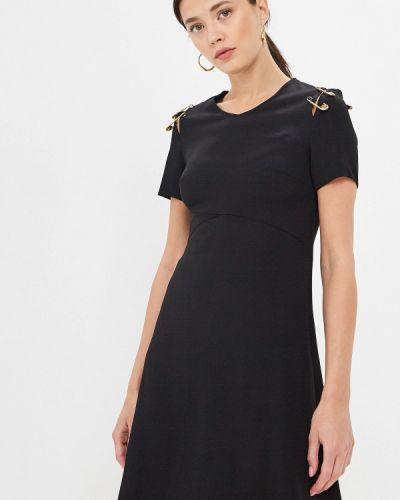 Платье - черное Versus Versace