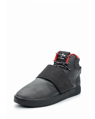 Черные высокие кеды Adidas Originals