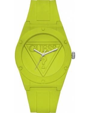 Водонепроницаемые часы кварцевые зеленый Guess Originals