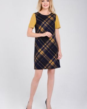 Повседневное платье платье-сарафан прямое Zip-art