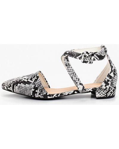 Кожаные туфли черные Coco Perla