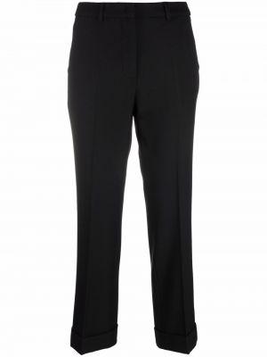 Черные укороченные брюки Seventy