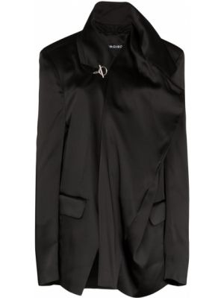 Черный пиджак оверсайз с карманами Y/project