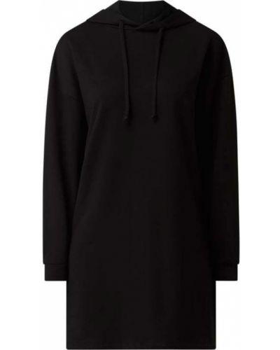 Czarna sukienka rozkloszowana dzianinowa Only
