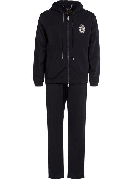 Спортивный костюм на молнии - черный Billionaire
