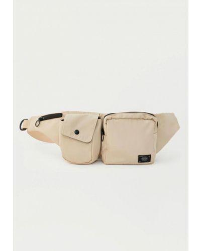 Поясная сумка бежевый Pull&bear