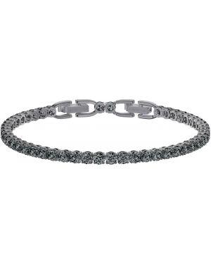 Браслет с камнями серебряный Swarovski