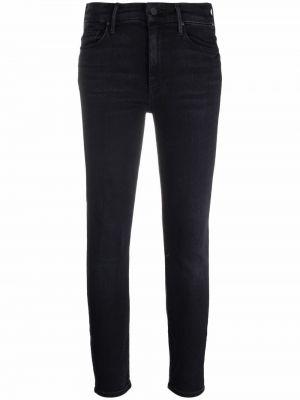 Черные хлопковые джинсы Mother