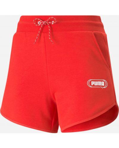 Спортивные шорты с завышенной талией Puma