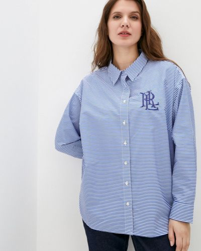 Рубашка - синяя Lauren Ralph Lauren Woman