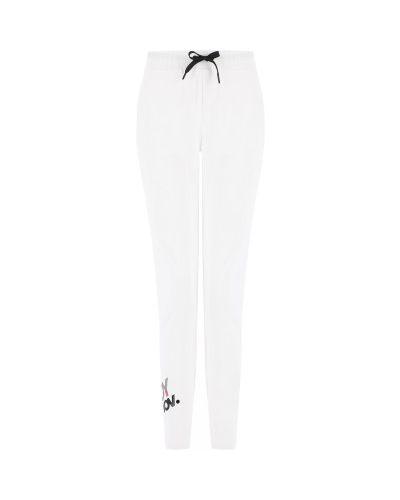 Трикотажные спортивные брюки - белые Freddy