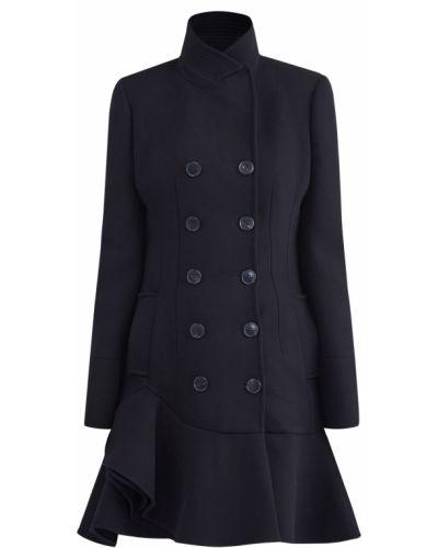 Пальто шерстяное с воротником Alexander Mcqueen