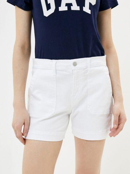 Повседневные белые шорты Gap