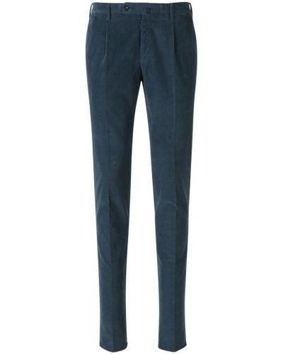 Niebieskie spodnie Incotex