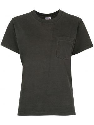 Серый футбольный топ винтажный с круглым вырезом Fake Alpha Vintage
