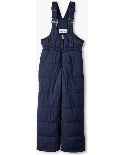 Синие теплые брюки Baon
