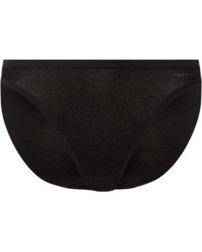 Czarne majtki bawełniane Mey