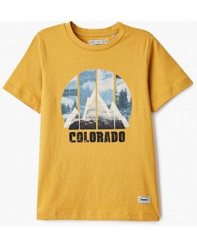 Желтая с рукавами футболка Produkt