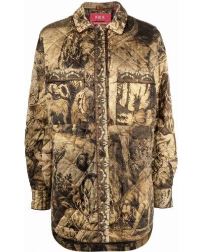 Стеганая куртка - бежевая F.r.s. For Restless Sleepers