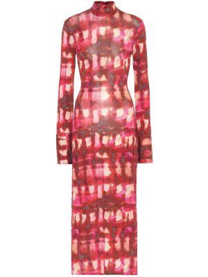 Платье миди деловое с принтом •ellery•