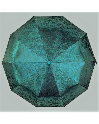 Легкий автоматический зонт - зеленый Flagman