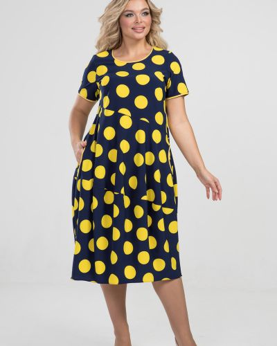 Свободное с рукавами платье бохо марита