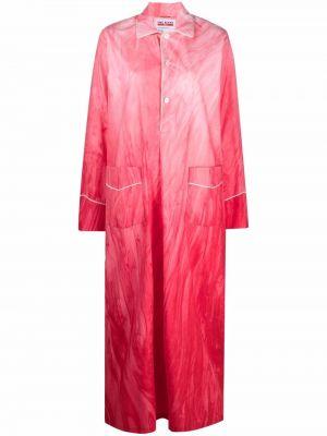 Платье макси длинное - розовое F.r.s. For Restless Sleepers