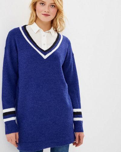 Пуловер синий By Swan