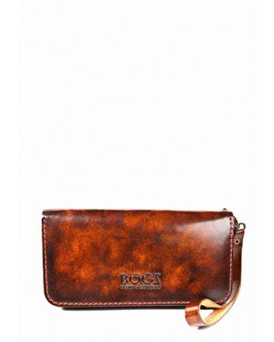 Оранжевый кошелек Bogz