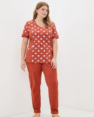 Оранжевая зимняя пижама Winzor