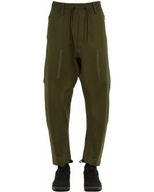 Zielone spodnie ciążowe Nike Acg