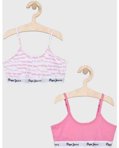 Бюстгальтер розовый Pepe Jeans