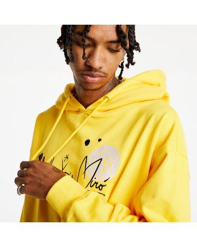 Żółta bluza Life Is Porno