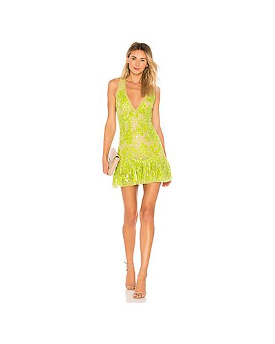 Платье мини сетчатое на молнии Nbd