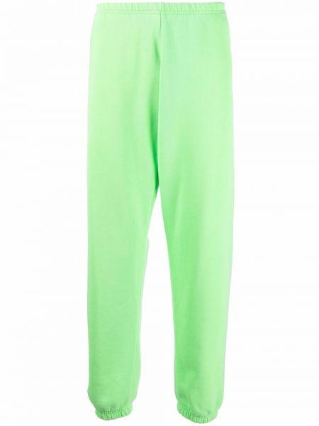 Zielone spodnie bawełniane Erl