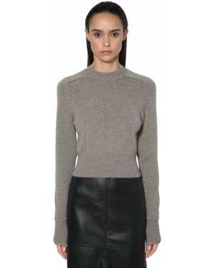 Кашемировый свитер - серый Victoria Beckham