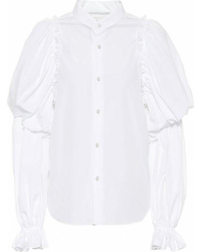 Biała bluzka bawełniana Noir Kei Ninomiya