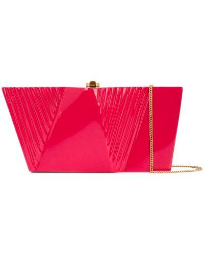 Розовая сумка на плечо Rocio
