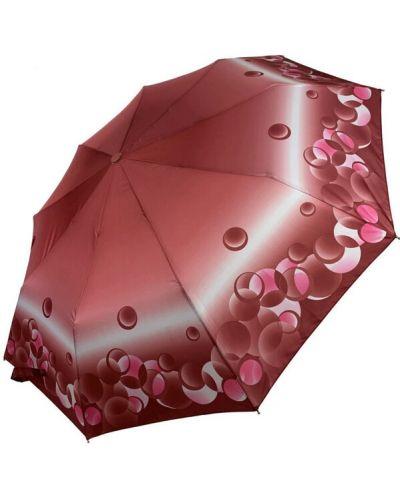 Прямой красный складной зонт Sl