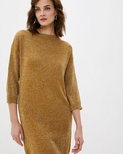 Прямое платье золотое Rinascimento