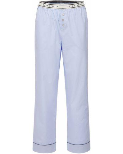 Spodnie bawełniane - niebieskie Love Stories