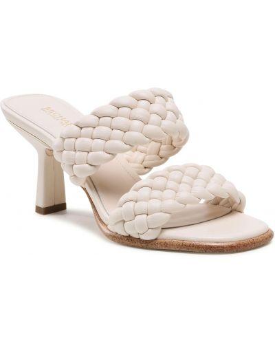 Białe sandały Michael Michael Kors