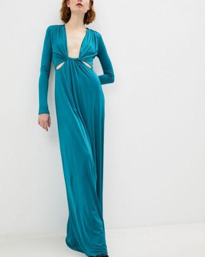 Бирюзовое вечернее платье Patrizia Pepe
