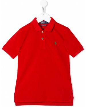 Асимметричная классическая рубашка Ralph Lauren Kids